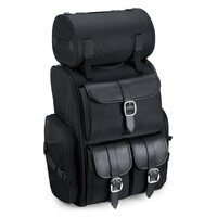 Viking Extra Large Plain Sissy Bar Bag 4,553 Cubic Inches 1