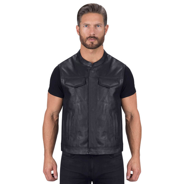 VikingCycle Gardar Motorcycle Vest for Men