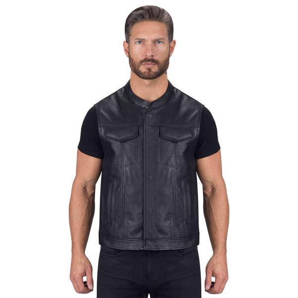VikingCycle Gardar Motorcycle Vest for Men