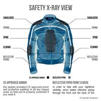 VikingCycle Ironside Motorcycle Jacket for Men 4