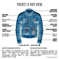 VikingCycle Ironside Motorcycle Jacket for Men 5