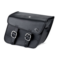Yamaha V Star 650 Custom Thor Series Small Leather Saddlebags