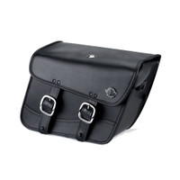 Yamaha Virago 250 Spear Thor Series Small Leather Saddlebags