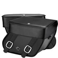 Yamaha Stratoliner/ Roadliner Concord Leather Saddlebags