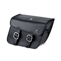 Harley Dyna Wide Glide FXDWG Thor Series Small Leather Saddlebags