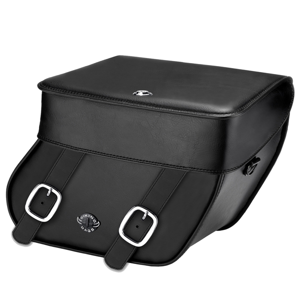 Yamaha Virago 7/11 Concord Leather Saddlebags