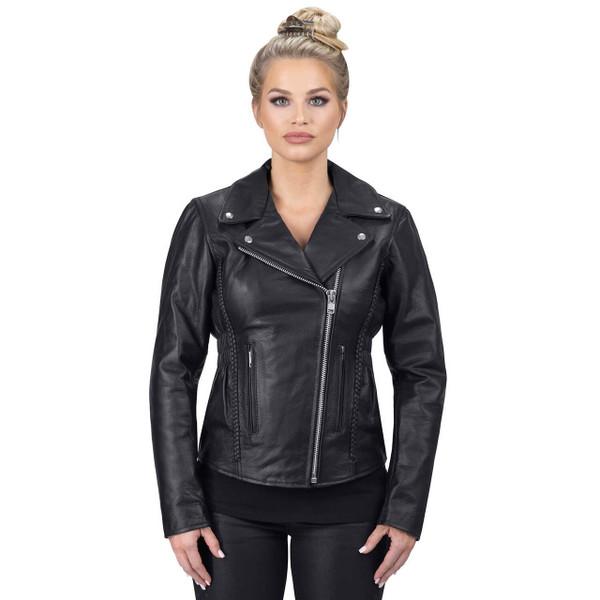 VikingCycle Cruise Motorcycle Jacket for Women