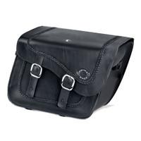 Harley Softail Cross Bones FLSTSB Charger Braided Leather Saddlebags
