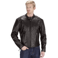 VikingCycle Warrior Motorcycle Jacket for Men Brown