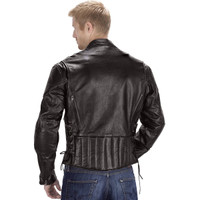 VikingCycle Warrior Motorcycle Jacket for Men Brown 2