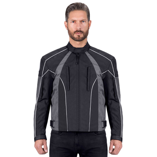 VikingCycle Thor Motorcycle Jacket for Men