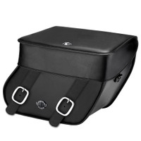 Victory Kingpin Concord Leather Saddlebags 1