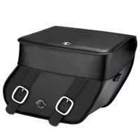 Victory V92C Concord Leather Saddlebags 1