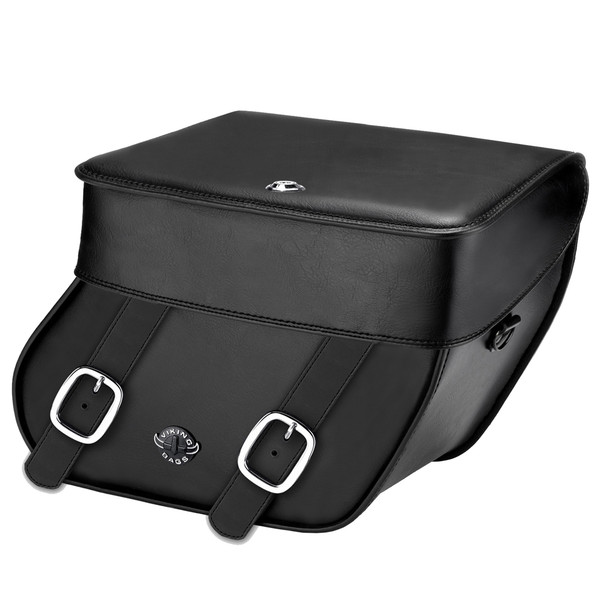 Victory Hammer Concord Leather Saddlebags 1