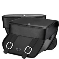 Victory Hammer Concord Leather Saddlebags 4