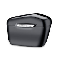 Triumph America Lamellar Large Black Hard Saddlebags 1