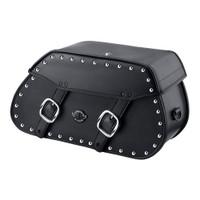 Victory Kingpin Pinnacle Studded Leather Saddlebags 1