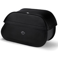 Victory Kingpin Series Extra Large Leather Saddlebags Main Image View