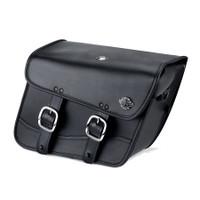 Hyosung GV250 Aquila Thor Series Small Leather Saddlebags