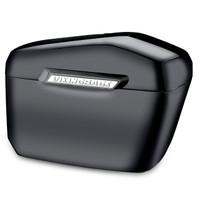 Harley Softail Custom FXSTC Lamellar Large Black Hard Saddlebags