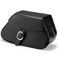 Harley Softail Fatboy FLSTF ZEN Leather Saddlebags