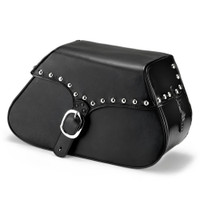 Harley Softail Fatboy FLSTF ZEN Studded Leather Saddlebags