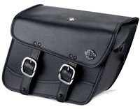 Harley Softail Custom FXSTC Thor Series Small Leather Saddlebags