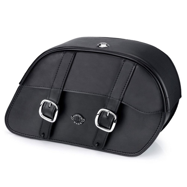 Triumph Thunderbird Charger Large Slanted Leather Saddlebags
