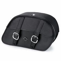 Triumph Thunderbird SE Charger Slanted Leather Saddlebags