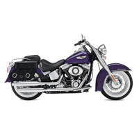 Harley Softail Deluxe FLSTN Concord Leather Saddlebags