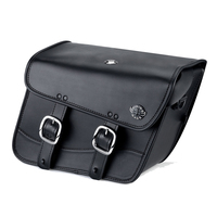 Harley Dyna Switchback Thor Series Small Leather Saddlebags