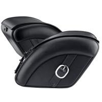 Harley Softail Deluxe FLSTN Quarter Circle leather SaddleBags 4