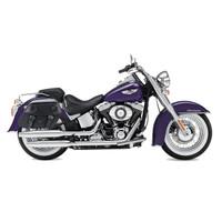 Viking Odin Medium Motorcycle Saddlebags For Harley Softail Slim 02