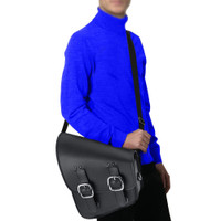 Harley Softail Deluxe FLSTN Softail Swing Arm Bags 7