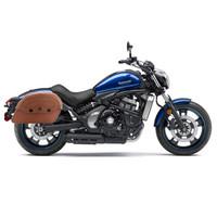 Suzuki Volusia 800 Viking Warrior Series Brown Large Motorcycle Saddlebags 02