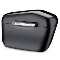 Yamaha Silverado Viking Lamellar Extra Large Black Hard Saddlebags