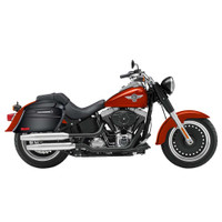 Yamaha Silverado Viking Lamellar Slanted Painted Motorcycle Hard Saddlebags 05
