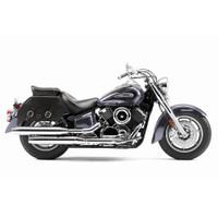 Yamaha Stryker Viking Pinnacle Leather Motorcycle Saddlebags 02