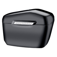Vikingbags Honda 1500 Valkyrie Interstate Viking Lamellar Large Black Hard Saddlebags
