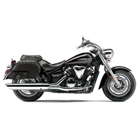 Honda 1500 Valkyrie Tourer Universal SS Side Pocket Studded Motorcycle Saddlebags