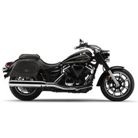 Honda 1500 Valkyrie Tourer Warrior Motorcycle Saddlebags On Bike View