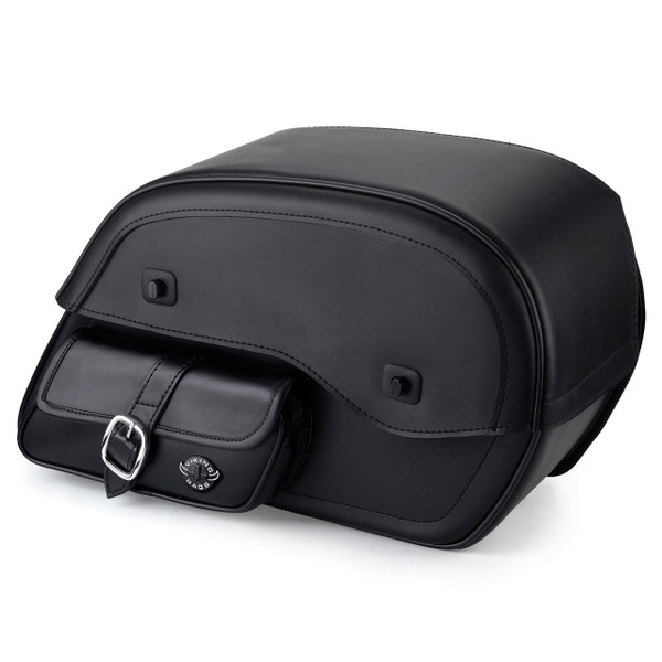 Vikingbags Honda 1500 Valkyrie Interstate Universal SS Side Pocket Motorcycle Saddlebags Main View