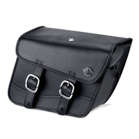 Vikingbags Honda 1500 Valkyrie Interstate Viking Thor Series Small Leather Motorcycle Saddlebags Main Image