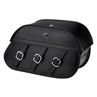 Viking Trianon Motorcycle Saddlebags For Harley Softail Breakout