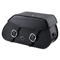 Viking Pinnacle Large Motorcycle Saddlebags For Harley Softail Breakout