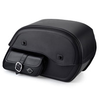 Viking Side Pocket SS Large Motorcycle Saddlebags For Harley Softail Breakout