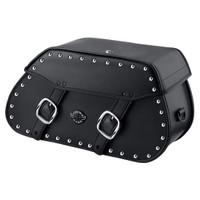 Harley Softail Heritage FLSTC Pinnacle Studded Leather Saddlebags