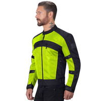 Viking Cycle Ironside Textile Motorcycle Jacket For Men