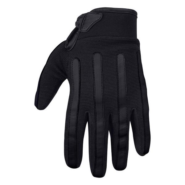 Viking Cycle Panache Riding Black Textile Motorcycle Gloves For Men