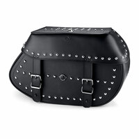 Viking Specific Studded Saddlebags For Harley Softail Custom FXSTC 1